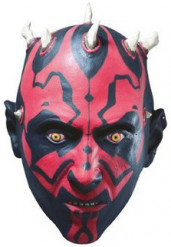 Maschera 3/4 Darth Maul™ Star Wars™ adulto
