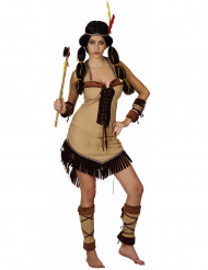 Costume indiana lusso donna