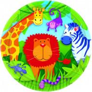 8 piatti giungla