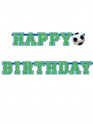 Banner happy birthday calcio