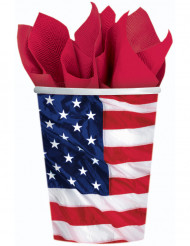 Bicchieri bandiera americana