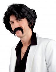 Parrucca Chuck con baffi uomo