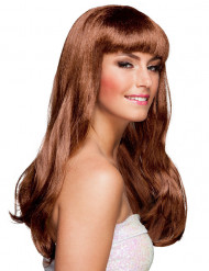 Parrucca lunga ondulata chic donna