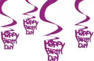 Decorazioni da appendere happy birthday