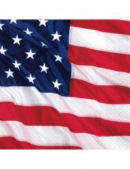 Tovaglioli bandiera americana