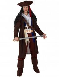 Costume da capitano pirata uomo