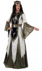 Costume da regina dei crociati per donna