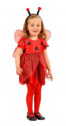 Costume graziosa coccinella bambina