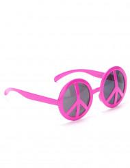 Occhiali Hippy rosa