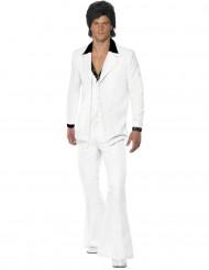 Costume disco bianco uomo