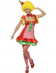 Costume clown allegro donna