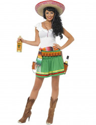 Costume tequilera messicana donna