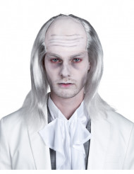 Parrucca zombie bianca uomo