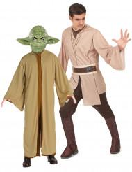 Costume coppia Maestro Yoda e Jedi Star Wars™