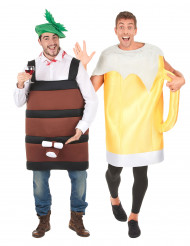 Costume coppia botte e boccale