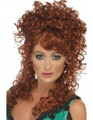 Parrucca riccia rossa donna