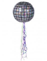 Pignatta sfera specchiata da discoteca