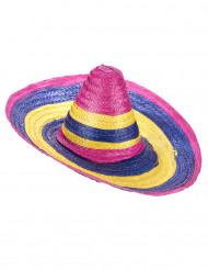 Sombrero multicolore adulto