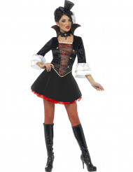 Costume vampiro donna elegante Halloween