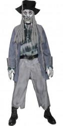 Costume pirata zombie uomo Halloween