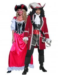 Costumi coppia pirati