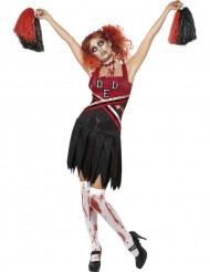 Costume zombie ragazza pompom Halloween