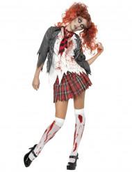 Costume alunna zombie Halloween