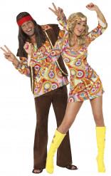 Costumi coppia hippie