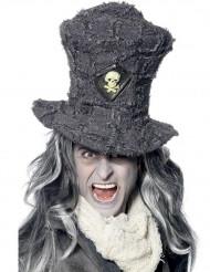 Cappello a cilindro con teschio  per adulto - Halloween