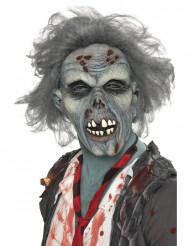 Maschera da zombie grigio per adulto Halloween