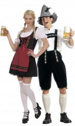 Costume coppia di bavaresi