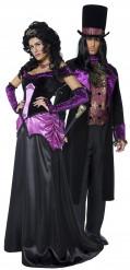 Costumi coppia conte e contessa Halloween