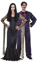 Costume coppia Morticia e Gomez della Famiglia Addams™