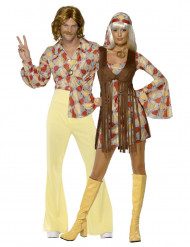 Costumi per coppia Hippy anni