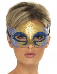 Maschera veneziana scintillante adulto