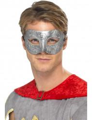 Maschera da colombina argentata adulto