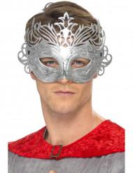 Maschera veneziana color metallo adulto