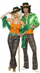 Costume coppia lady e gentleman da discoteca