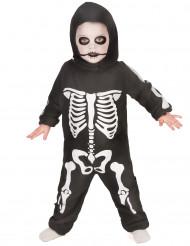Costume da mini scheletro bambino Halloween