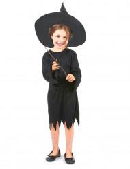 Costume strega simpatica bambina Halloween