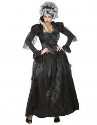 Costume contessa nera per donna Halloween