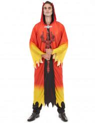 Costume diavolo degli inferi uomo Halloween