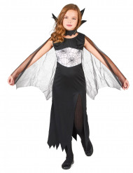 Costume da strega ragno con spacco per bambina