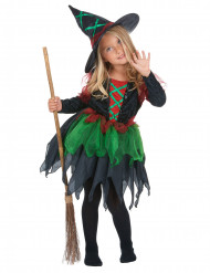 Costume strega dei boschi bambina Halloween