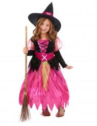 Costume strega Halloween bambina