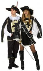 Costumi da coppia di moschettieri
