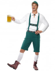 Costume bavarese verde uomo