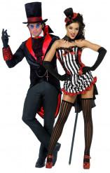 Costumi coppia vampiri Halloween