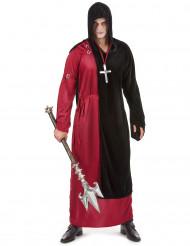 Costume monaco sinistro Halloween uomo