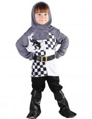 Costume cavaliere scacchiera bambino
